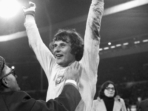 Jan Tomaszewski was in inspiring form against England in 1973 (PA Archive)