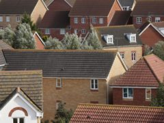 Research found Covid restrictions and uncertainty over the stamp duty holiday saw potential house sellers hold off putting their homes on the market in February (PA)