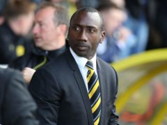 Jimmy Floyd Hasselbaink was pleased with Burton's win (Barrington Coombs/PA)