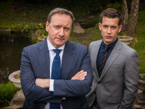 DCI John Barnaby (left, played by Neil Dudgeon) and DS Jamie Winter (played by Nick Hendrix) from Midsomer Murders (Bentley Productions/ITV)