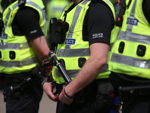 Police Scotland said it was engaging with the church (Andrew Milligan/PA)