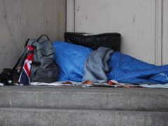 Homeless people should be offered the vaccine without the need for an NHS number or GP registration, the Joint Committee on Vaccination and Immunisation said (Yui Mok/PA)