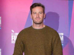 Hollywood actor Armie Hammer has been accused of raping a woman in Los Angeles (Isabel Infantes/PA)