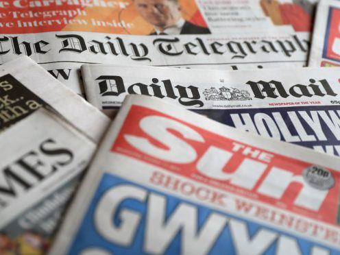 What the papers say – March 19 (Peter Byrne/PA)