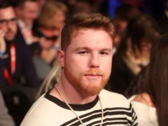 Saul 'Canelo' Alvarez is the latest star to receive one of Hollywood's oldest honours (Liam McBurney/PA)
