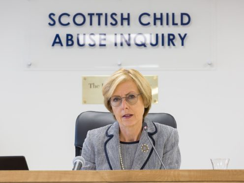 Judge Lady Smith is hearing the Scottish Child Abuse Inquiry which is currently looking at alleged and historic abuse in boarding schools (Nick Mailer/PA)