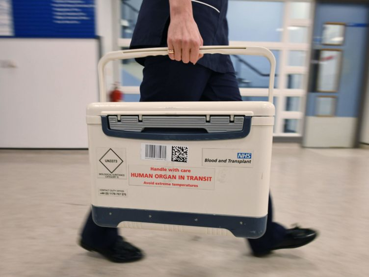 An opt-out system for organ donation comes into effect on March 26 (Stefan Rousseau/PA)