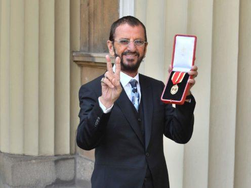 Sir Richard Starkey, also known as Ringo Starr (John Stillwell/PA)