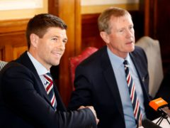 Dave King was the man who hired Steven Gerrard, left, to manage Rangers back in 2018 (Jeff Holmes/PA)