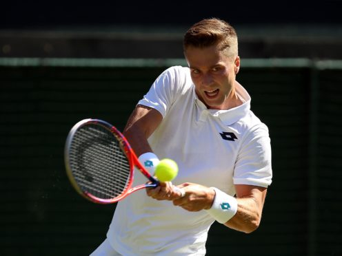 Liam Broady is poised to surpass his career-high ranking after a great start to 2021 (Nigel French/PA)
