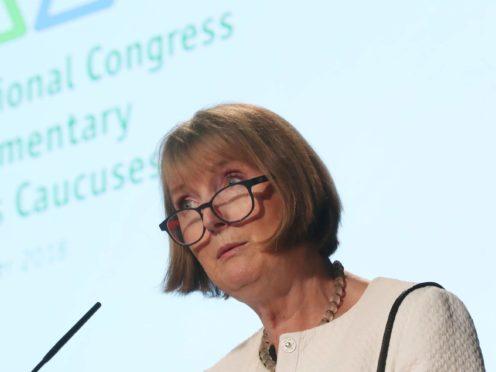 Harriet Harman has criticised the police (Niall Carson/PA)