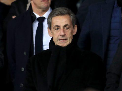 Nicolas Sarkozy (Mike Egerton/PA)