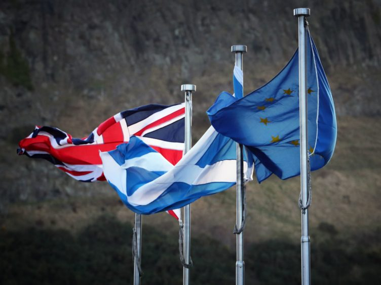 Polling on support for independence was carried out in February (Jane Barlow/PA)