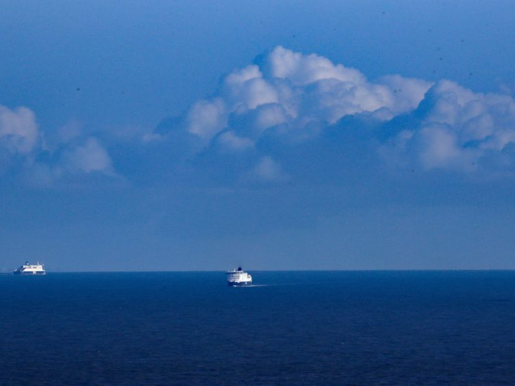 The Dover Strait is the world's busiest shipping lane and features dangerous waters (Gareth Fuller/PA)
