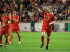 Manchester City's Kevin De Bruyne is determined to end Belgium's poor record against Wales (Bradley Collyer/PA)