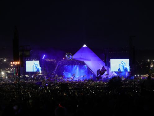 The designer of Glastonbury's world-famous Pyramid Stage has died at the age of 83, the festival's founder said (Aaron Chown/PA)