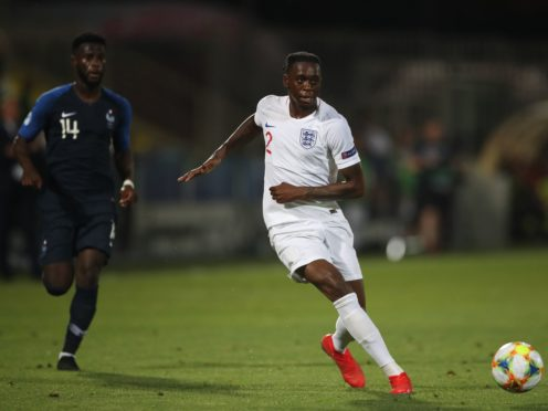 Aaron Wan-Bissaka has played for England's Under-21s (Nick Potts/PA)