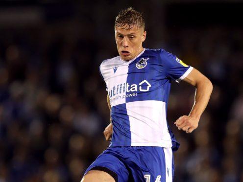 Loanee Tom Davies remains a doubt for Barrow (David Davies/PA)
