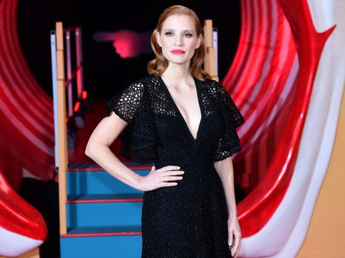 Jessica Chastain (Ian West/PA)