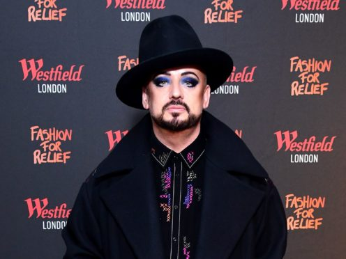 Boy George's content will include animated and still versions of his own paintings, as well as music and other artistic endeavours (Ian West/PA)