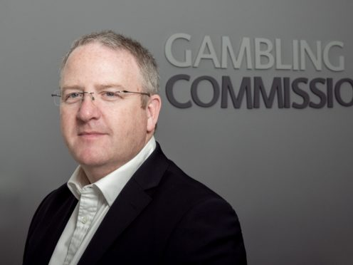 Neil McArthur has announced he is stepping down as chief executive of the Gambling Commission (Richard Stonehouse/Stonehouse Photographic/PA)