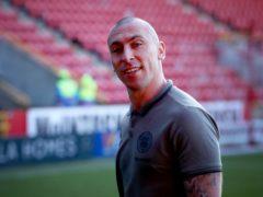 Celtic skipper Scott Brown is moving to Aberdeen (Jane Barlow/PA)