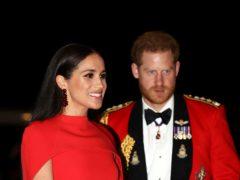 The Duke and Duchess of Sussex (Simon Dawson/PA)