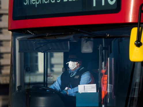 An earlier lockdown would have saved the lives of London bus drivers, an independent review has concluded (Victoria Jones/PA)