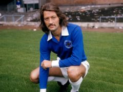 Frank Worthington during his time at Leicester (PA)