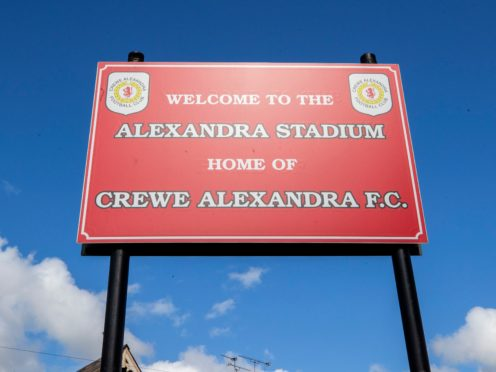 Crewe expressed regrets over historical failings in the club's own safeguarding policy (Peter Byrne/PA)