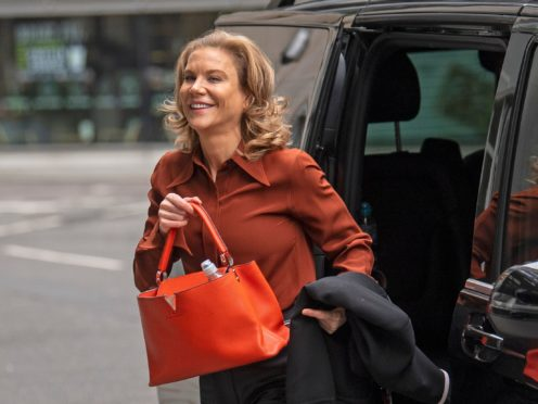 A judge dismissed Amanda Staveley's claim in a ruling delivered in February (Victoria Jones/PA)