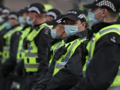 Police Scotland has had more than 19,000 individual absences of officers and staff because of coronavirus (Andrew Milligan/PA)