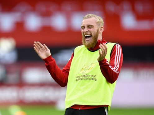Could Oli McBurnie find himself as a makeshift centre-half against Southampton at the weekend (Peter Powell/NMC Pool)