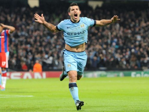 Sergio Aguero will leave Manchester City as their greatest goalscorer (Tim Goode/PA)