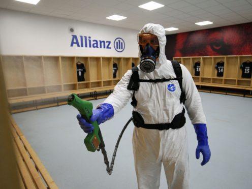 Rentokil's disinfection business made £225m last year (Jonathan Brady/PA)