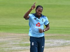 England fast bowler Jofra Archer has had surgery to remove a fragment of glass from a finger after smashing a fish tank (Shaun Botterill/PA)