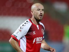 Paddy Madden is in contention to start for Fleetwood against Gillingham (PA)