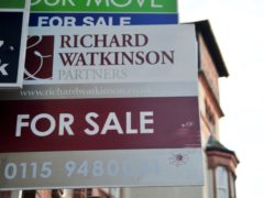 House prices are expected to increase by 4% this year across the UK, according to Savills' forecasts (Rebekah Downes/PA)