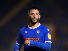 On-loan midfielder Luke Gambin is available for Newport's League Two clash with Bradford (John Walton/PA)