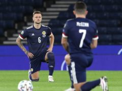 Scotland players will stand rather than take the knee (Andrew Milligan/PA)