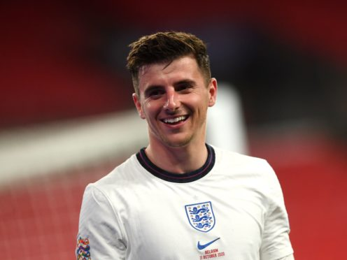 """England midfielder Mason Mount admits it has been a """"rollercoaster"""" at Chelsea this season. (Neil Hall/PA)"""