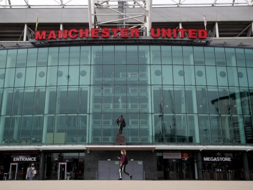 Manchester United have agreed a five-year sponsorship deal with TeamViewer (Martin Rickett/PA).