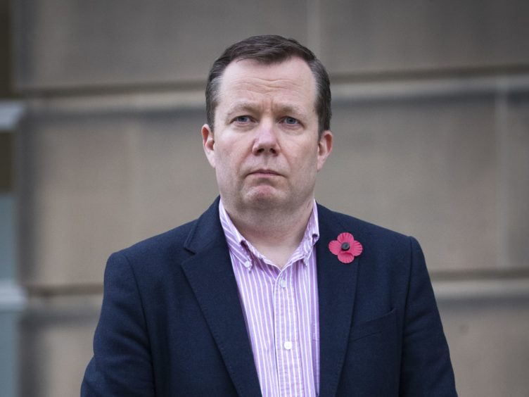 National Clincial Director Jason Leitch said he was worried about the discovery of a Brazilian variant in Scotland but not panicking (Jane Barlow/PA)