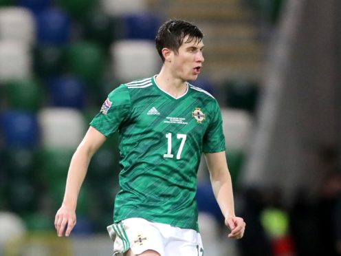 Paddy McNair grew accustomed to success in the early days of his Northern Ireland career (Niall Carson/PA)