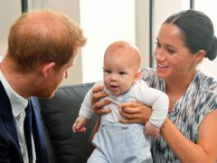 Meghan wanted Archie to be a prince (Toby Melville/PA)