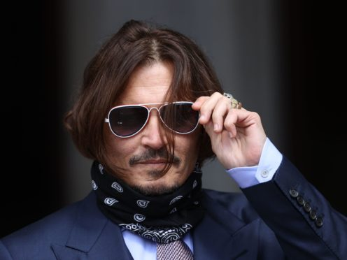 Johnny Depp is seeking to appeal against the ruling (Yui Mok/PA)