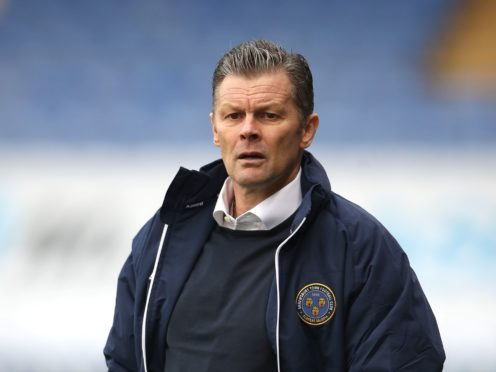 Shrewsbury manager Steve Cotterill has returned home from hospital after suffering from Covid-Pneumonia (Nick Potts/PA)