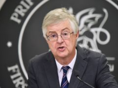 Mark Drakeford said he hoped Wales would soon have more 'headroom' to ease restrictions (Ben Birchall/PA)