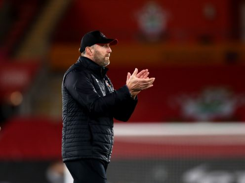 Southampton manager Ralph Hasenhuttl has seen his side slide down the Premier League table in 2021 (Naomi Baker/PA)