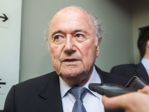 Former FIFA president Sepp Blatter has been given a new ban of six years and eight months from football (Liam McBurney/PA)
